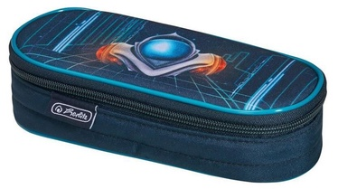 Herlitz Pencil Pouch Oval Space Car