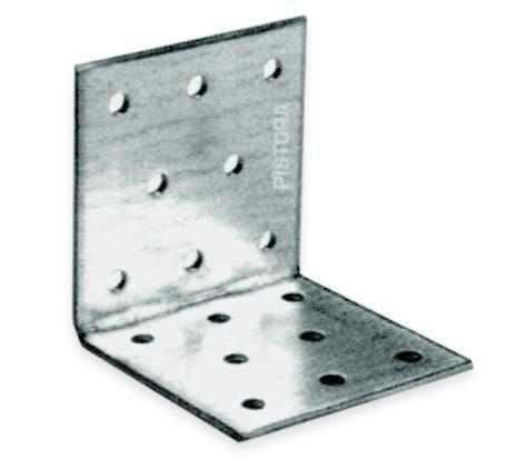 Крепежный уголок, 40 мм x 40 мм, 100 шт.
