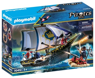Constructor playmobil pirates 70412