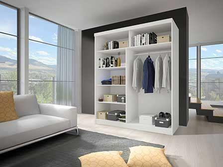 Idzczak Meble Wardrobe Multi II 35 203cm White
