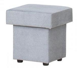 Bodzio Pouf With Storage Velor Grey