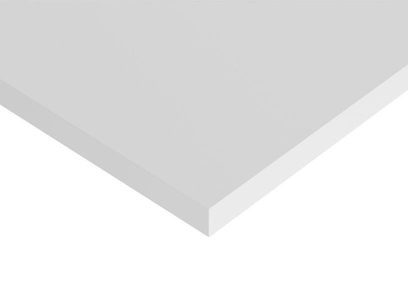Black Red White Vario Modern Table Top 120x80cm White
