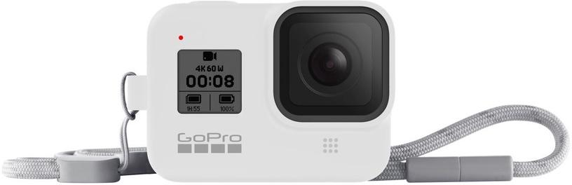 GoPro Sleeve + Lanyard For Hero8 White Hot