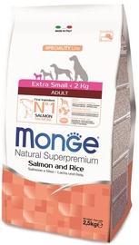 Сухой корм для собак Monge Speciality Line Adult Extra Small Salmon & Rice 2.5kg