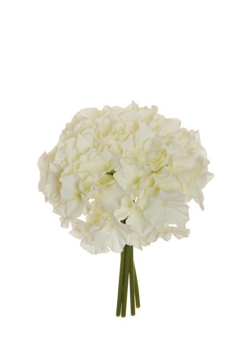 Artificial Flower Bouquet 26cm White 80-284143