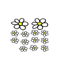 SN Car Stickers Daisy