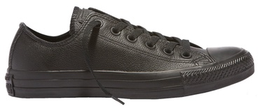 Converse Chuck Taylor All Star Leather Low Top 135253 Mono Black 36.5