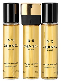 Tualettvesi Chanel No.5 3x20ml EDT