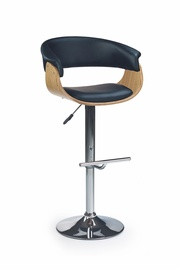 Halmar H-45 Bar Stool Light Oak/Black