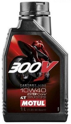 Motul 300V FL Road Racing 10W40 Motor Oil 1l