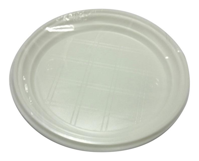 Vienkartinių lėkščių komplektas, Ø20.5 cm, 10 vnt