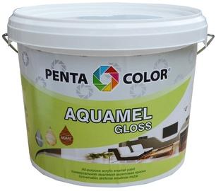 Krāsa Pentacolor Aquamel, 3kg, spīdīga balta