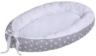 Lulando Multifunctional Baby Nest Grey With White Stars/White