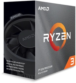 Procesors AMD Ryzen 3 3100 3.6GHz 16MB BOX