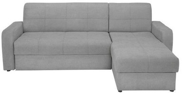 Black Red White Sofa Bed Kirsten III Light Grey