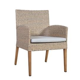 Home4you Henry Garden Chair 56x62x85cm Beige