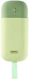 Uzlādēšanas ierīce – akumulators (Power bank) Remax, 5000 mAh, zaļa