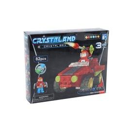 Crystaland Lighted Brix Speed Tank 82pcs 99080