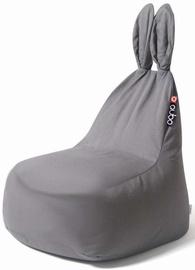 Qubo Bean Bag Baby Rabbit Grey Soft Art103283