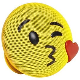 Niveda Bluetooth Speaker Kiss Yellow