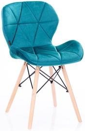 Стул для столовой Homede Silla Velvet Blue, 4 шт.