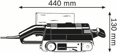 Bosch GBS 75 AE Belt Sander