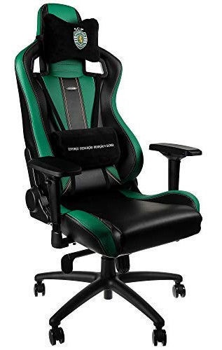 Peachy Noblechairs Epic Gaming Chair Sporting Clube De Portugal Edition Black Green Inzonedesignstudio Interior Chair Design Inzonedesignstudiocom