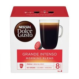 Kavos kapsulės Nescafe Dolce Gusto Grande Intenso Morning Blend, 16 vnt.