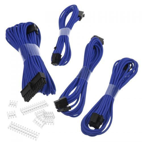 Phanteks PH-CB-CMBO Sleeved Cable Kit Blue