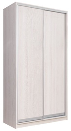 Garant-NV Wardrobe w/ 2 Sliding Doors & 2 Drawers 160x240x60cm Light Ash