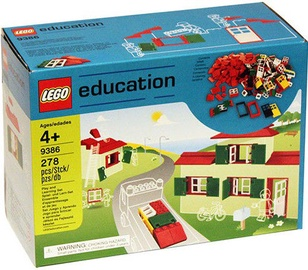 LEGO Education Doors Windows & Roof Tiles Set 9386
