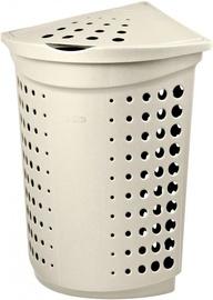 Curver Victor Corner Laundry Box 40l Cream