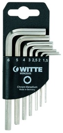 Witte Hexagonal Key Wrench Set 1.5-6mm 7pcs