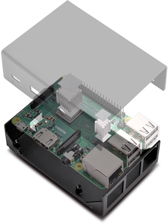 Silverstone PI01 Case for Raspberry Pi