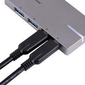SilverStone EP09 2-Port USB 3.0 Hub Silver