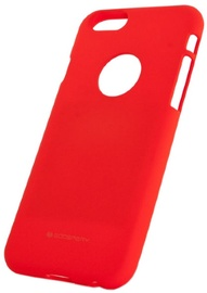 Mercury Soft Surface Back Case For Samsung Galaxy J7 J730F Red
