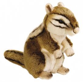 Mīkstā rotaļlieta Dante National Geographic Siberian Squirrel, 26 cm