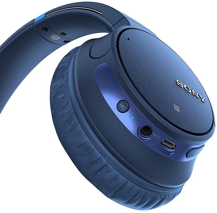 Ausinės Sony CH700N Wireless Headphones Blue