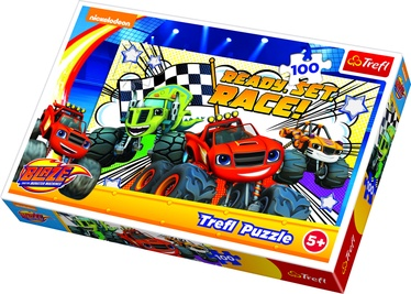 Trefl Puzzle Blaze Ready Set Race 100pcs 16301T