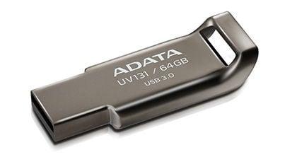 USB флеш-накопитель ADATA UV131 Grey, USB 3.0, 64 GB