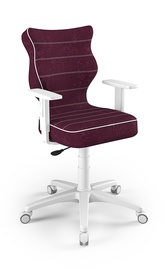 Vaikiška kėdė Entelo Duo Size 6 VS07, balta/violetinė, 425x400x1045 mm