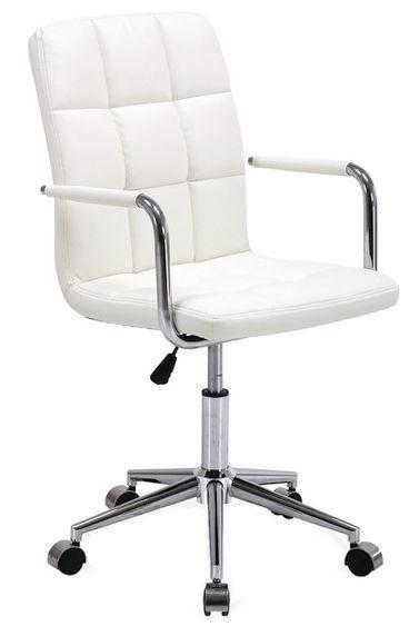 Biroja krēsls Signal Meble Rotary Q-022 White