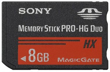 Sony 8GB Memory Stick PRO-HG Duo HX