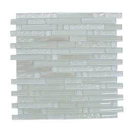 Stiklo mozaikos žalia A1574, 30x30 cm