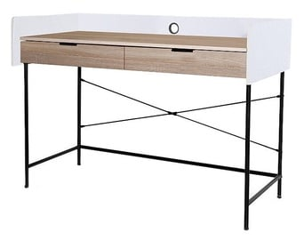 Signal Meble B-181 Desk Oak/White