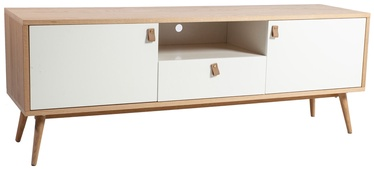 Home4you TV Table Helena 150x40x55cm White/Natural