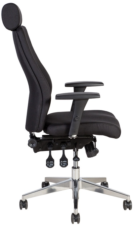 Home4you Office Chair Smart Extra Black