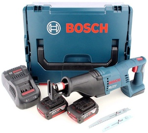 Bosch GSA 18V-Li L-Boxx Cordless Sabre Saw w/2x5.0Ah Batteries