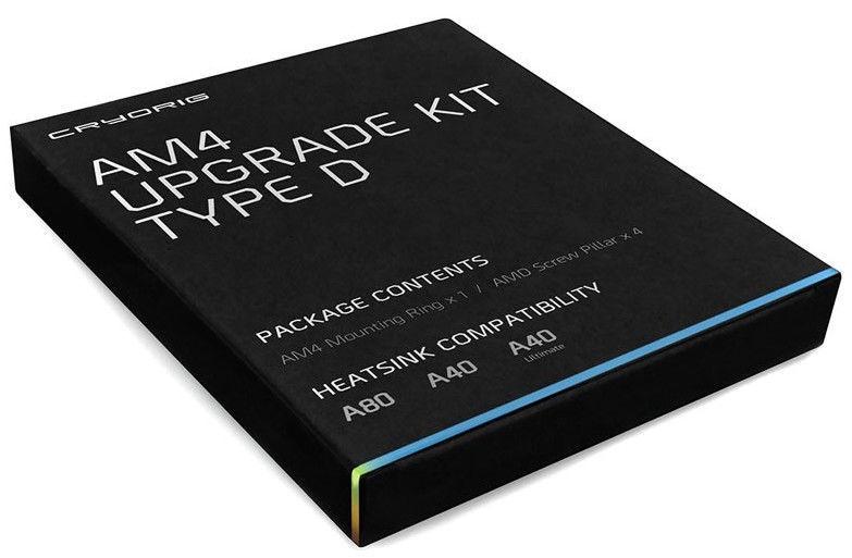 Cryorig CPU Cooler AM4 Upgrade Kit Type D For A-Series AiOs
