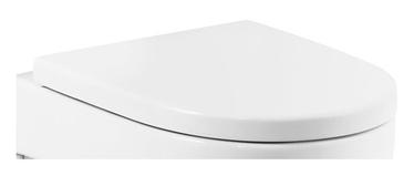 Tualetes poda vāks Roca Meridian 8012A, ar Soft-close 43x36cm
